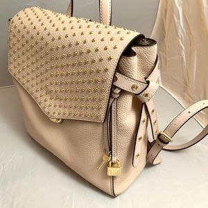 Michael Kors Bristol Studded Leather backpack
